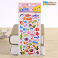 1sheet  Korea kawaii cute sea Fishes animal stickers for album Diary Notebook  DIY paper decorative sticky sticker for children