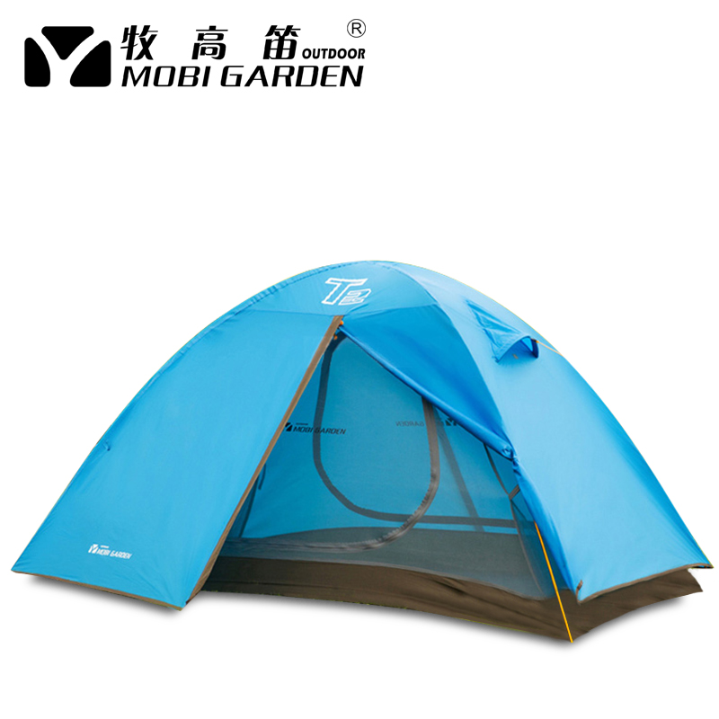 waterproof outdoor tent 1-2person fiberglass waterproof breathable tent for hiking camping trekking two person tent outdoor camping tent kit fiberglass pole water resistance with carry bag for hiking traveling 200x120x110cm