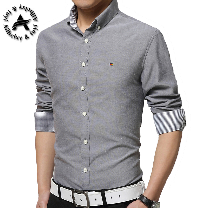 2016 New Brand Men 39 S Casual Shirt Long Sleeve Banded