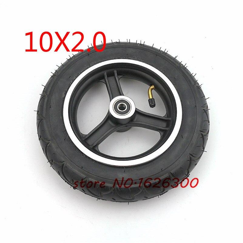 Pneu de 10 pouces avec pneu intérieur 10x2.0 et jante intérieure de roue de pneu pour Scooter électrique équilibrant le pneu intelligent d'équilibre d'individu de Hoverboard