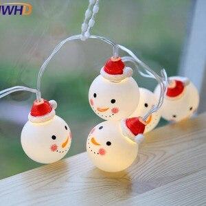IWHD Romantic Snowman LED Chri