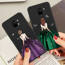 ASINA Soft Silicone Case For Samsung Galaxy S9 Luxury With Beautiful Dress Plus Cover Phone Bumper Funda