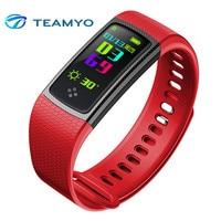 Teamyo Smart Band S9 LED Screen Heart Rate Monitor Fitness Bracelet Waterproof Wristband Blood Pressure Oxygen