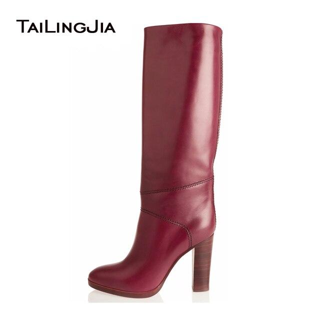 Chaussures à fermeture éclair rouges Sexy femme mWCmAS8T