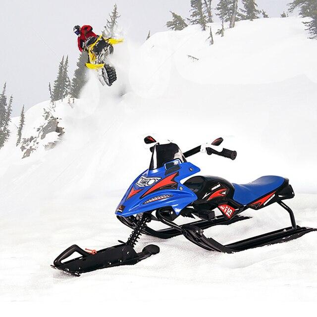 Электрический Лыжный Спорт Автомобиль Мотоцикл Сноуборд для взрослых/Санки детские Лыжный Спорт Панели лыжный новейшее оборудование лыжный автомобиль