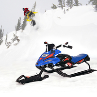 Skiing Vehicle Motorcycle Snowboard for Adult/ Kids Snow Sledge Skiing Boards Ski Equipment Newest Ski Car