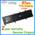 original new 245RR laptop battery for dell Precision M3800 XPS 15 series 9535 9530 701WJ 7D1WJ 91WH 11.1V high capacity