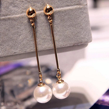 Drop Pearl Earrings