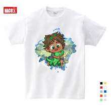 Lovely Cartoon Dinosaur Animal Print Boys T Shirt Tops White Tshirt Long Sleeve 2019 Summer Clothes Kids Costume T-shirt 3T-9T