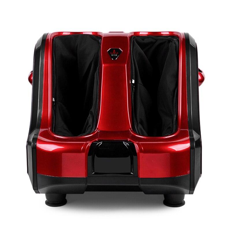 Russia libero di trasporto di nuovo stile 220 v Massager Del Piede di Riscaldamento del piede di vibrazione gamba apparecchi di massaggio del piede Massaggiatore