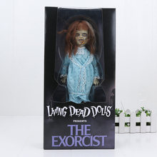 The Exorcist Living Dead Dolls Scary Bride of Chucky Classic figure Terror Film Action Figure Toys Halloween Holiday Gift(China)