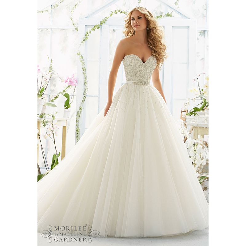 Buying Wedding Gowns  Reviews : Wedding dresses ball gown beaded sequins sweetheart lace bridal gowns
