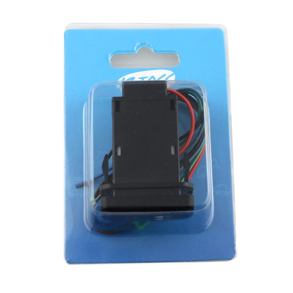 12V 0.5A LED Light Bar Blue Double Lamps Wiring Loom Harness Relay ...