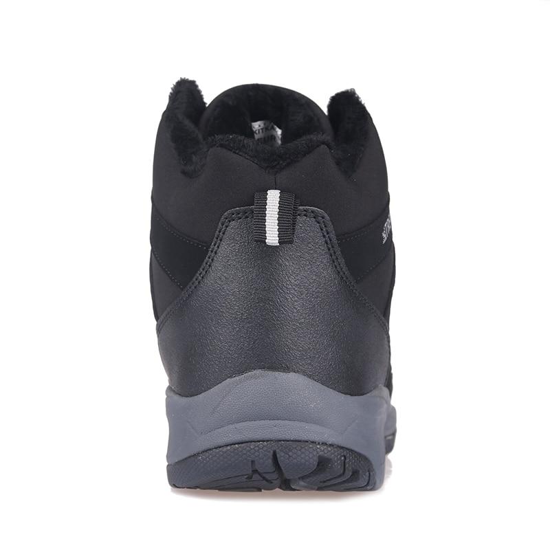 Senderismo Piel Casual Seguridad Impermeable Grition Al Plataforma Hombre Bota Calzado La De Botas Aire Hombres Black Zapatos Libre Trek 7qXq4Pg