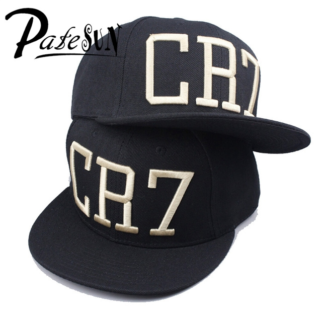 05c114ffc88630 PATESUN Wholesale Fashion Star Ronaldo CR7 Baseball Cap Hat For Men Women  Hip Hop Caps Black Blue Snapback Hat Cap-in Baseball Caps from Apparel  Accessories ...