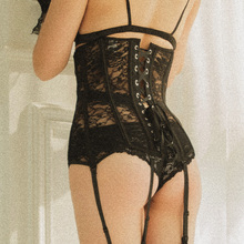Women's Sheer Lace Under Bust Corset