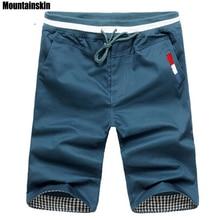 Mountainskin 2018 Новая мода Для мужчин s укороченные штаны хлопок Jogger Для мужчин Корея хип-хоп шаровары на открытом воздухе весенние и летние шорты, EDA307