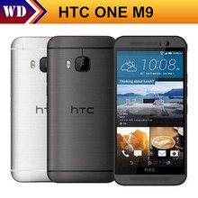 Original HTC One M9 Mobile Phone Android Octa-Core 5.0 inches 3GB/32G 4G LTE 20MP wifi GPS Unlocked, DHL-EMS Shipping