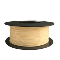 FLEXBED ABS 3D Printing Filament  Dimensional Accuracy +/- 0.03 mm  1 kg Spool  1.75 mm  Silver Color