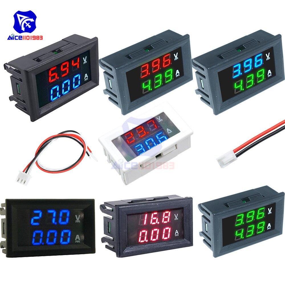 DC 0-100V 0-10A Voltmeter Ammeter 0.56