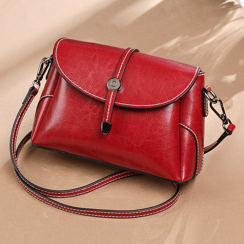 Womens Korean version of the wild fashion soft leather shoulder bag Quality PU leather zipper pocket crossbody bagWomens Korean version of the wild fashion soft leather shoulder bag Quality PU leather zipper pocket crossbody bag