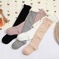 Striped Bow Straight Children Socks Cotton Are High Tube Baby Stockings Knee Socks Baby long socks
