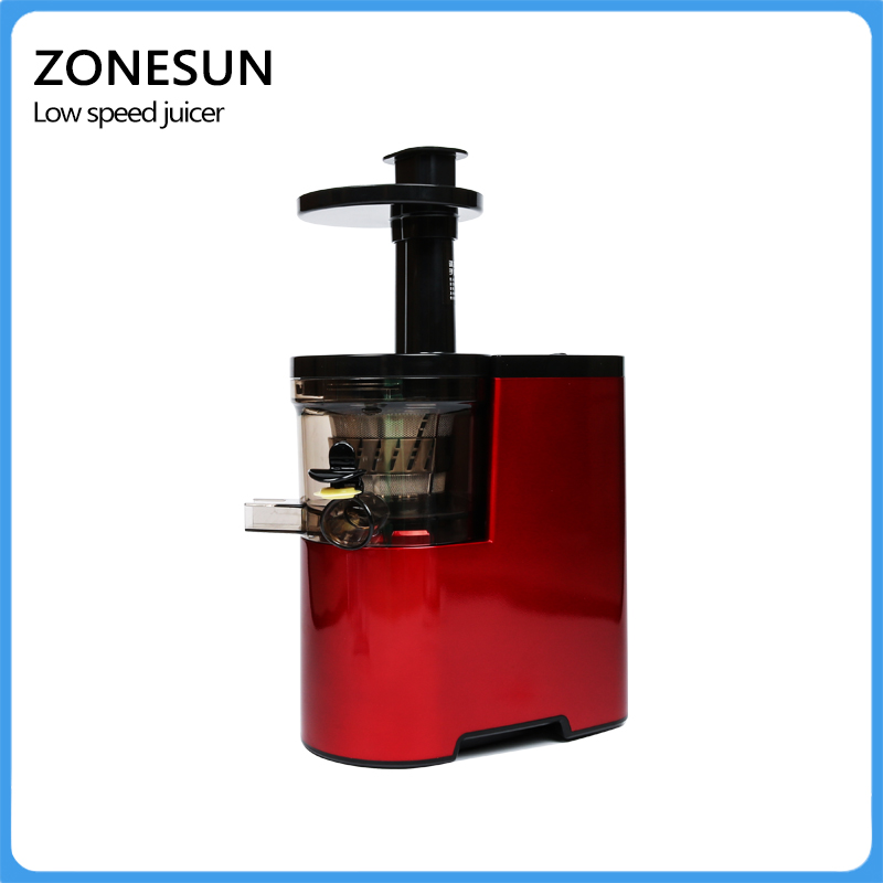 ZONESUN High end red juice machine homemade nutritious and healthy juice/ easy operation juicer