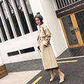 Woman's Trenches Coat Autumn Spring Female Overcoat With Belt Long Design 2017 New  hot outwear