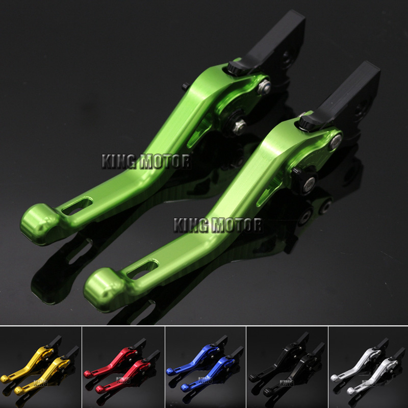 ФОТО For GILERA Runner 200 2003-2008 Runner 125 1997-2002 Motorcycle Accessories CNC Aluminum Short Brake Clutch Levers Green