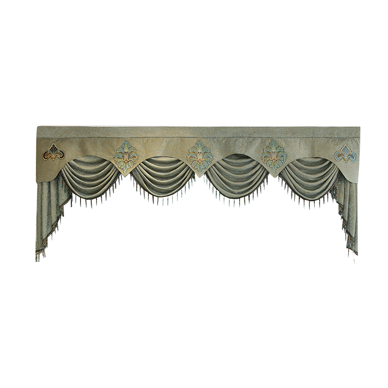 7 стилей, новые Pelmet европейские Роскошные занавески для гостиной, оконные шторы для спальни, 1 шт., на заказ - 6