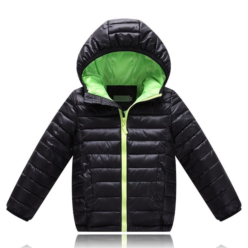 e7e704381 Boys Winter Jacket Fashion Kids Hooded Winter Coat Thick Children ...
