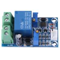 Módulo de protección de bajo voltaje 12V 10A interruptor automático de corte de bajo voltaje en placa de batería de almacenamiento de recuperación