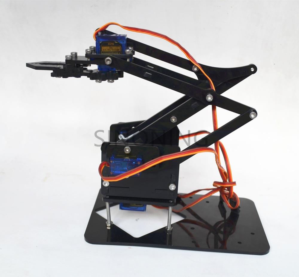 Mecânica acrílica lidar com robô robótico 4