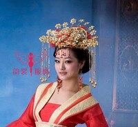 Tang Suit Empress Costume Red Hanfu Costume Cosplay Female Hanfu Costume Female