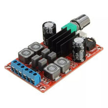 Tpa3116d2 2x50 w 디지털 전력 증폭기 보드 5 v ~ 24 v 듀얼 채널 스테레오 앰프