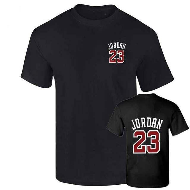 3efd69fe4c9e 23 t shirt 2018 Fashion Printed 100% Cotton short sleeve couple t shirt  design jordan