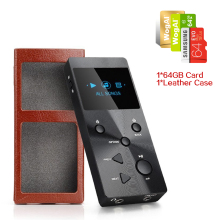 XDUOO X3 Professional Lossless Music MP3 Player HIFI Audio Music Player 64GB Card+leather Case HD OLED Screen Max 256GB 3 colors