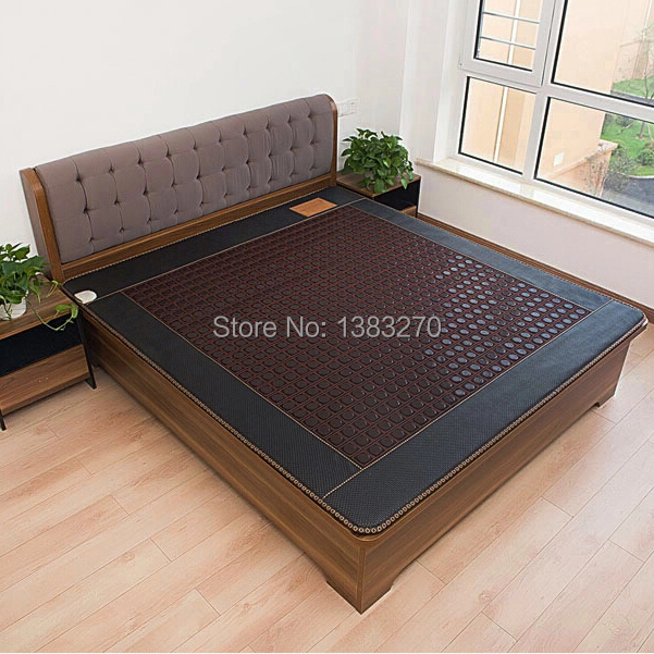 Infrared Heated Negative Ion Massage mattress machine Korea Jade Mattress Heating Massage Korea Tourmaline Mattress 1.2X1.9CM