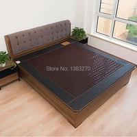 Infrared Heated Negative Ion Massage mattress machine Korea Jade Mattress Heating Massage Korea Tourmaline Mattress 1.2X1.9CM