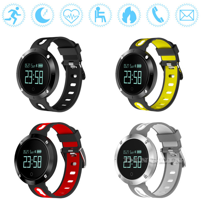 GZDL Smart Band DM58 Heart Rate Blood Pressure Device IP68 Waterproof Sports Bracelet Smart Wristband Fitness Tracker WT8122