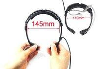 עבור שני הדרך גמיש גרון מיקרופון מיקרופון Covert אקוסטית Tube אפרכסת אוזניות עבור YAESU VX ורטקס-3R 5R FT50R 60R 210A שני הדרך רדיו (3)