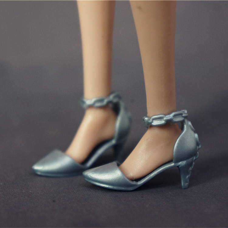Original 4 pair Doll Shoes Fashion Cute shoes for  Doll shoes 1//6 HU