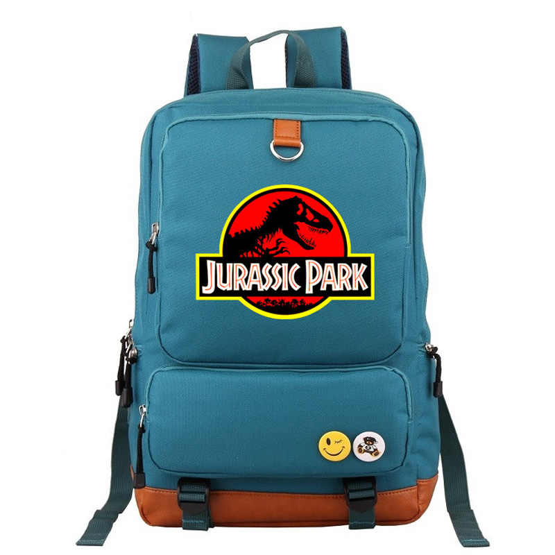 2019 New Hot Jurassic Dinosaur Skull Fossil Boy Girl School Bag Women Bagpack Teenagers Schoolbags Canvas Men Student Backpack