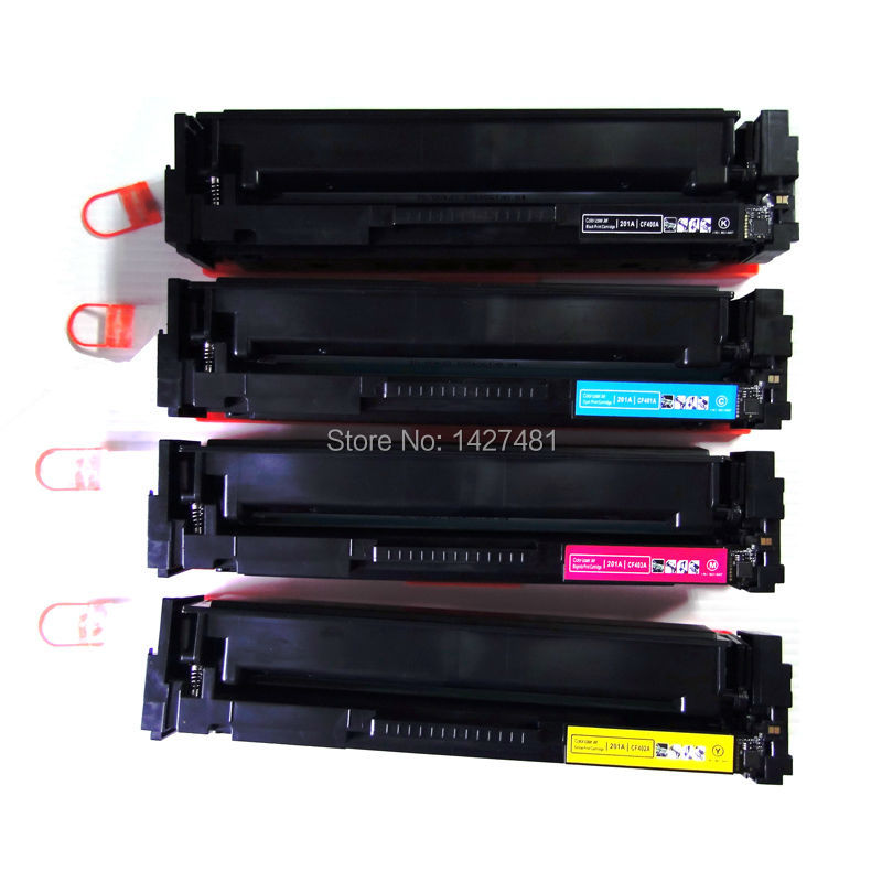 YOTAT 1pcs Compatible <font><b>Toner</b></font> Cartridge CF400A CF401A CF402A CF403A for <font><b>HP</b></font> Laserjet Pro M252dw <font><b>M277dw</b></font> M277n <font><b>Printer</b></font> image