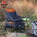 Westfield multifuncional cadeira dobrável de pesca com a pesca ferramentas saco caixas de enfrentar