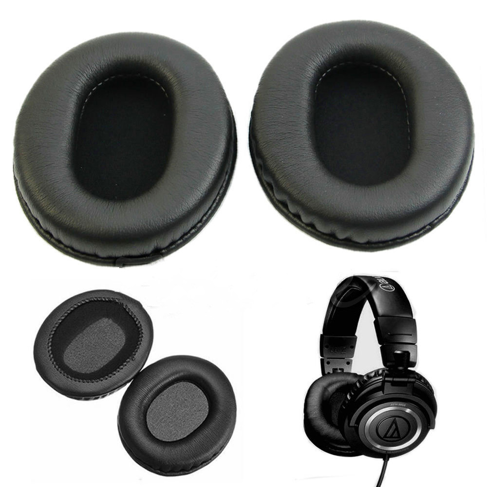 Replacement Ear Pads Pude til Audio - Technica ATH-M40 ATH-M50 M50X - Bærbar lyd og video - Foto 1