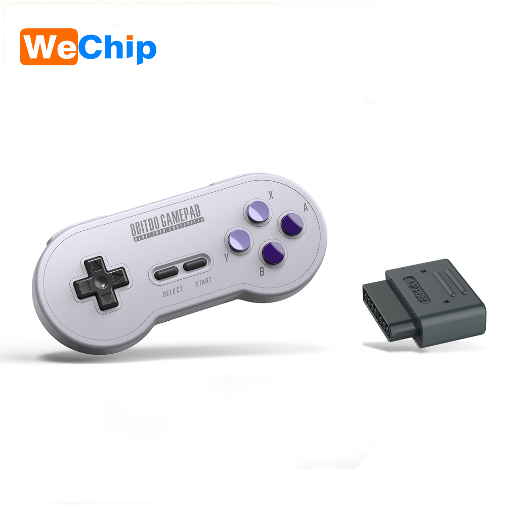 8 8bitdo SN30 SF30 רטרו סט אלחוטי להתחבר Bluetooth Gamepad עבור Nintendo SNES SF-C אנדרואיד Windows macOS