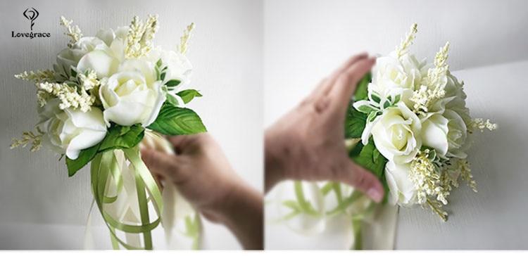 wedding bouquet for bridal bridesmaid flowers (14)