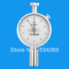 0-100HD Double Pointer Hardness Tester with Pressure Needle Stroke 2.5mm