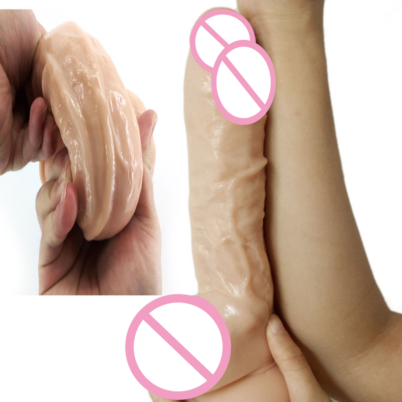 FK Skinfeeling Realistic Penis Super Huge Big Dildo With Suction Cup Sex Toys for Woman Sex Products Female Masturbation Cock huge dildo with suction cup big fake dildo realistic penis ribbed stimulate anal dildo adult sex toys for women masturbation